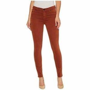 Hudson Nico Mid-Rise Ankle Super Skinny Jeans 28
